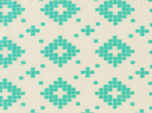 Cotton & Steel Alexia Abegg Mesa Tiles Turquoise