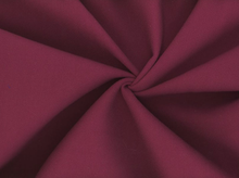Cotton Stretch Crepe Maroon