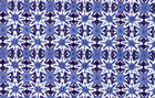 Cotton Tangier Tiles Upholstery Fabric Made in Peru