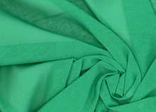 Cotton Voile Fabric Emerald