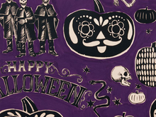 Crafty Calaveras Cotton Prune