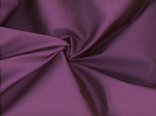 Cross-Dyed Poly Taffeta Purple