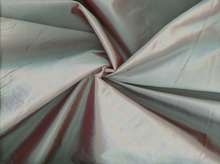 Cross-Dyed Poly Taffeta Seafoam