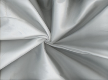 Cross-Dyed Poly Taffeta White