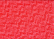 Crossgrain Cotton Red