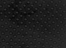 Cuddle Dimple Dot Minky Fabric Black