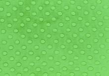 Cuddle Dimple Dot Minky Fabric Kelly Green