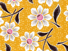Riley Blake Daisy Cottage Cotton Yellow