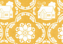 Daisy Cottage Little Houses for Riley Blake Yellow