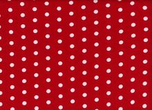 "Dakota Jersey Knit Dots Red <br><FONT COLOR=""fc7db0"">Employee Favorite!</FONT>"