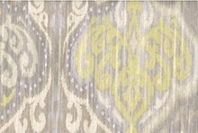 Damask Twill Cotton Upholstery Fabric Fog