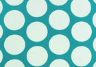 "Dandy Dot Canvas Turquoise and White <br><FONT COLOR=""fc7db0"">Employee Favorite!</FONT>"