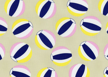 Dear Stella Beach Balls Cotton Fabric Sand