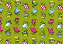 Dear Stella Chairs Cotton Green