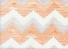 Dear Stella Chevron Cotton Melon