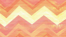 Dear Stella Chevron Orange