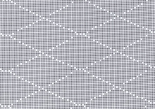 Dear Stella Diamond Dots Fabric Grey