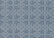 Dear Stella Labyrinth Fabric Charcoal