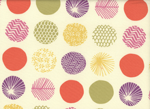 Dear Stella Piper Patterned Dots Cotton Cream