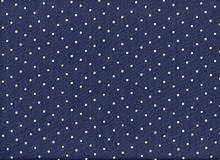 Dear Stella Polka Dot Cotton Indigo