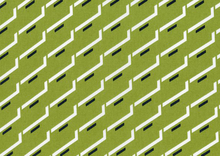 Dear Stella Side Step Geometric Grass