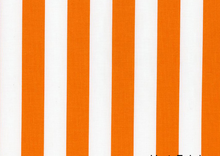 Dear Stella Stripes Cotton Fabric Orange