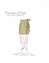 Decades of Style 1920's Clothes-Pin Apron #2002