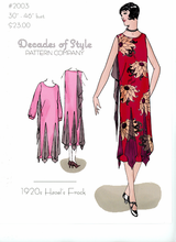 Decades of Style 1920's Hazel's Frock #2003