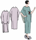 Decades of Style 1926 One Piece Negligee #2601