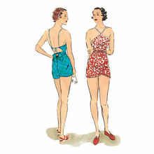 Decades Of Style 1930's Beach Romper #3013