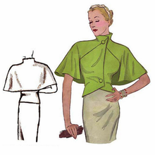 Decades of Style 1930's Capelet #3009