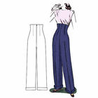 Decades of Style 1940's Empire Waist Trousers #4004