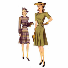 Decades of Style 1940's New England Dress #4007