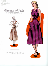 Decades of Style 1948 Siren Sundress #4003