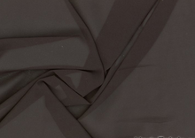 Defina Stretch Chiffon Fabric Black