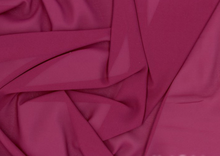 Defina Stretch Chiffon Fabric Plum