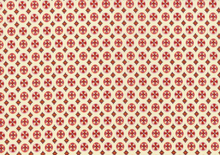Denyse Schmidt Chicopee Circle Cross Cotton Fabric Red