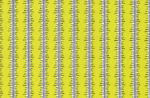 Denyse Schmidt Chicopee Heatwave Stripe Cotton Fabric Lime