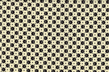 Denyse Schmidt Chicopee Voltage Dot Cotton Fabric Black
