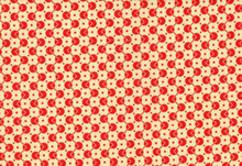 Denyse Schmidt Chicopee Voltage Dot Cotton Fabric Red