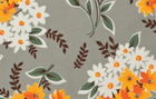 Denyse Schmidt Flea Market Fancy Bouquet Grey
