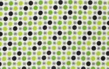 Denyse Schmidt Flea Market Fancy Flower Dot Green