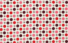 Denyse Schmidt Flea Market Fancy Flower Dot Red