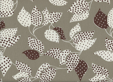 Denyse Schmidt Flea Market Fancy Leaf Dot Cotton Grey