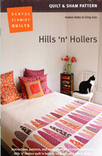 Denyse Schmidt Hills 'n' Hollers Quilt and Sham Pattern