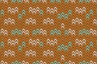 Dessert Daydream Knit Print Fabric By Anthology Fabrics Brown