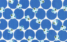 Dot Cluster Fabric Blue