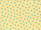 Dot Oilcloth Tan & Turquoise