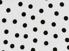 Dots Oilcloth Black & White