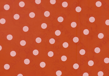 Dots Oilcloth Red & White